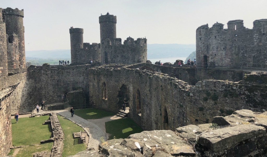 kastelen van Wales Conwy Castle The Millennial Mom