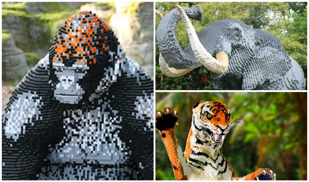 LEGO Bricks in de Zoo