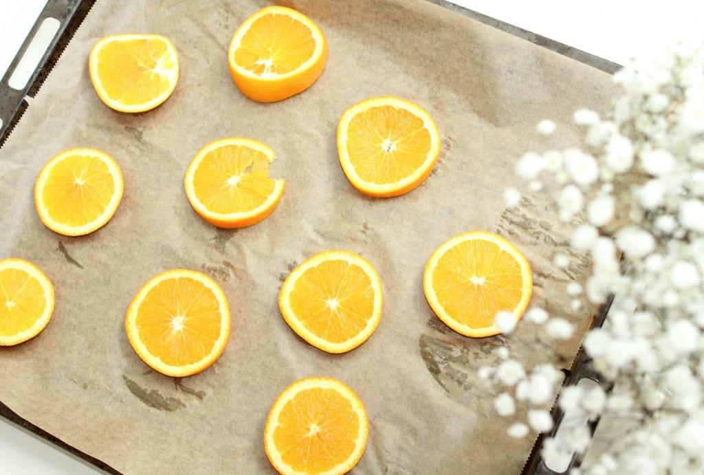 gedroogde sinaasappels maken