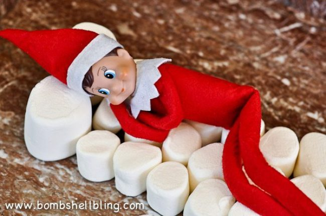 Elf-on-the-Shelf-Ideas-marshmallows