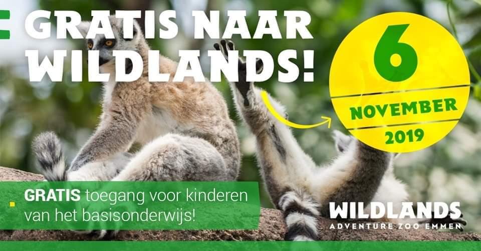 gratis naar Wildlands tijdens lerarenstaking