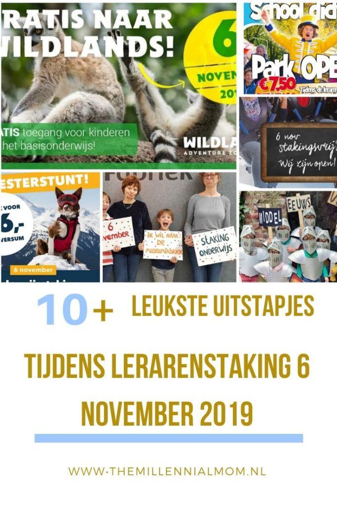 wat te doen tijdens lerarenstaking 6 november 2019