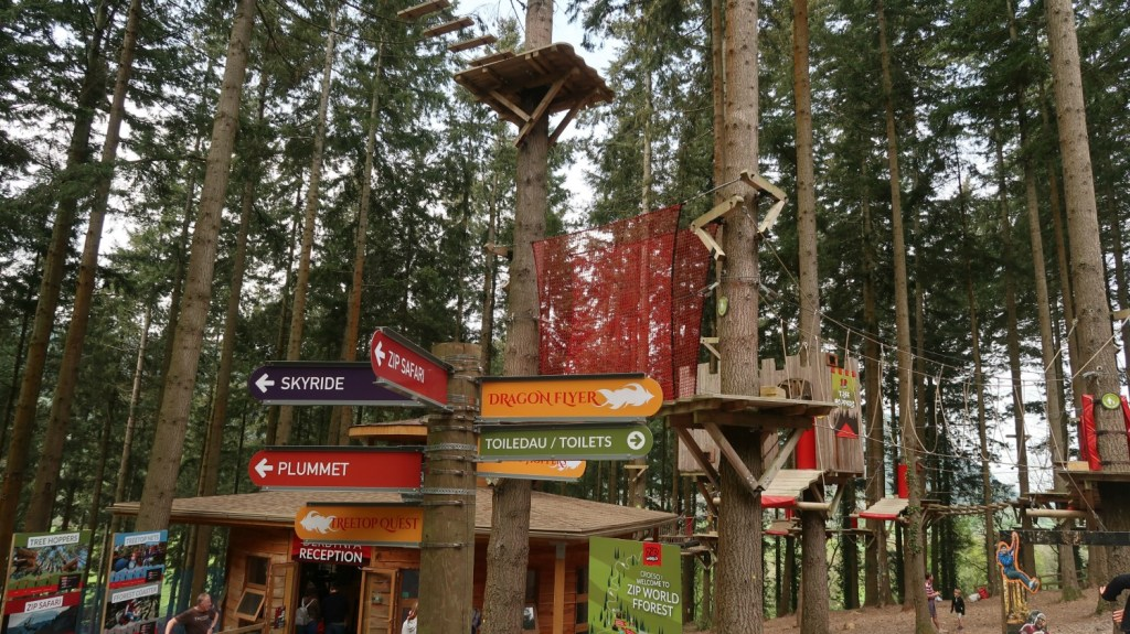 Alles over Zip World Fforest treetop nets Wales The Millennial Mom