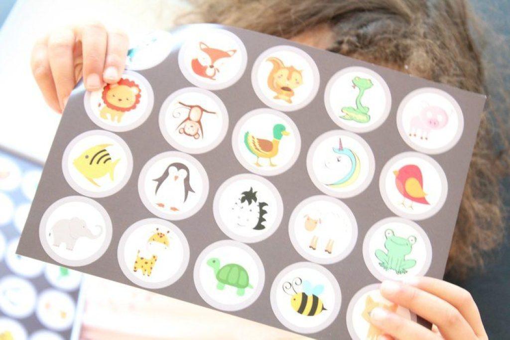 stickers voor zindelijkheidstraining
