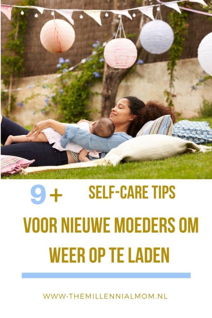 self-care tips voor nieuwe moeders om weer op te laden