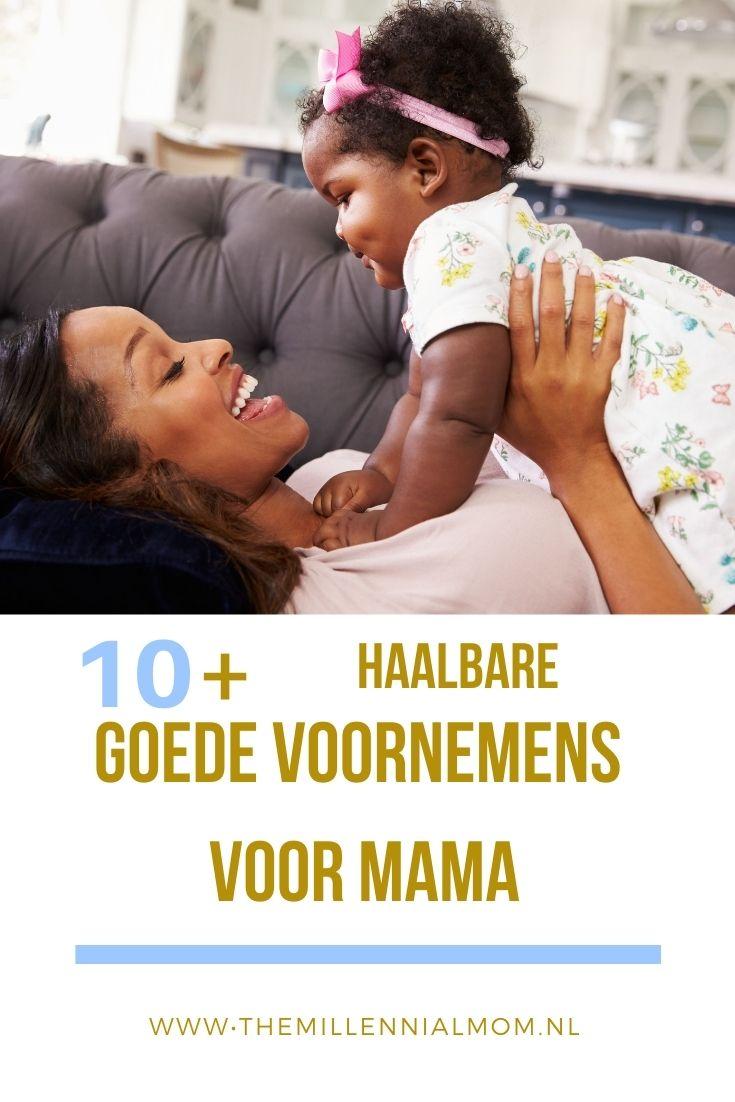 top 10 goede voornemens voor mama-themillennialmom