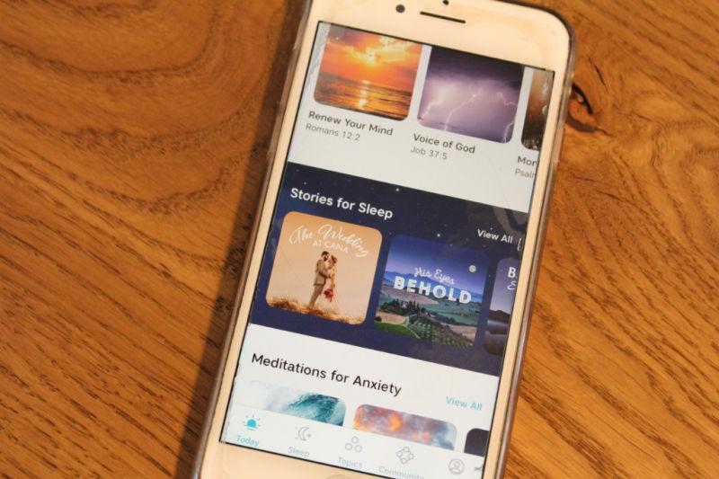 Abide Bible Meditation & Sleep app