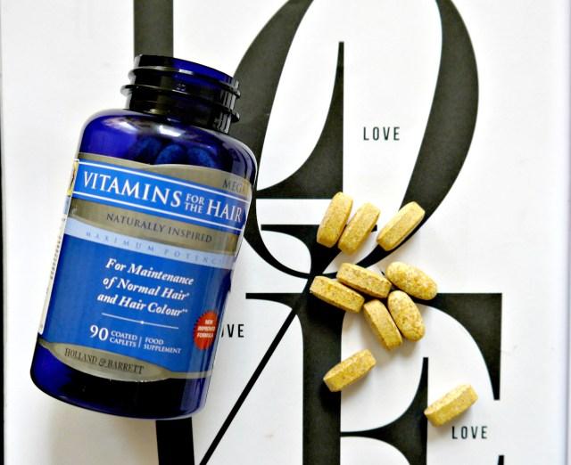 Holland And Barrett 'Mega Vitamins for the hair'