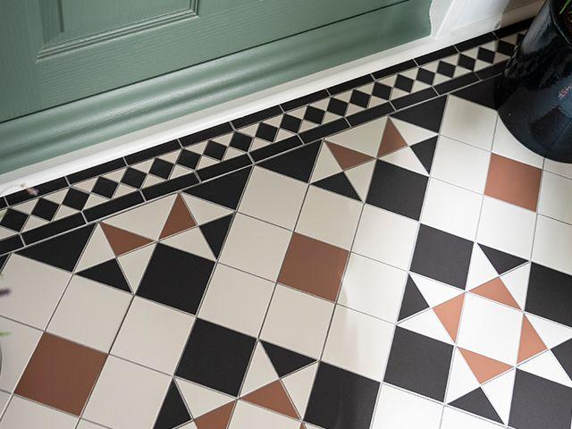 victorian floor tile look