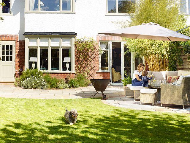 patio flooring for the garden