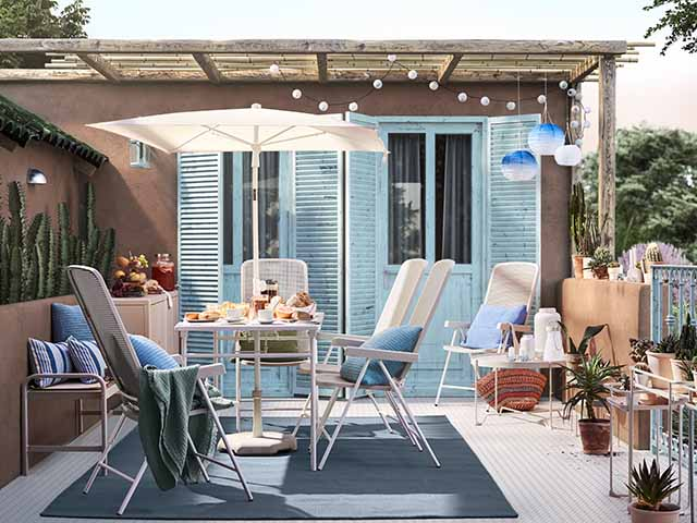 ikea outdoor escapism trend with a little creativity and inspiration you can create your own slice of paradise goodhomes magazine goodhomes magazine