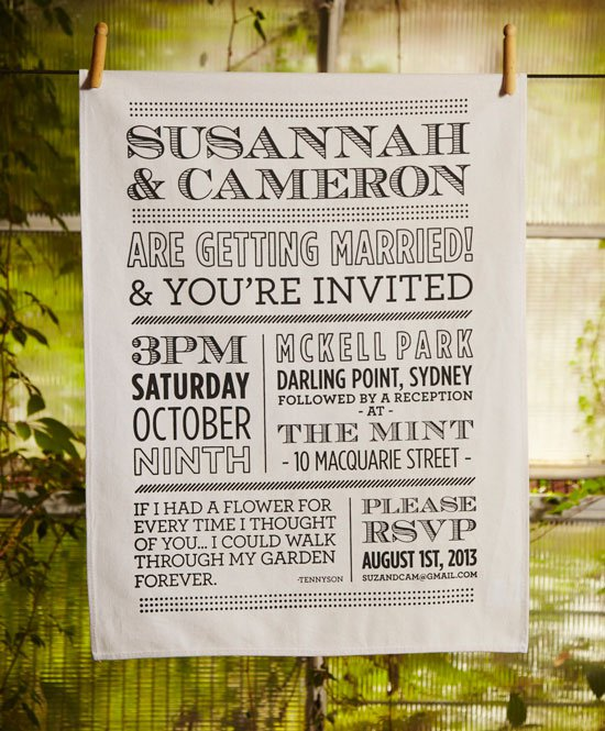And Wedding Invitations Black White Trees