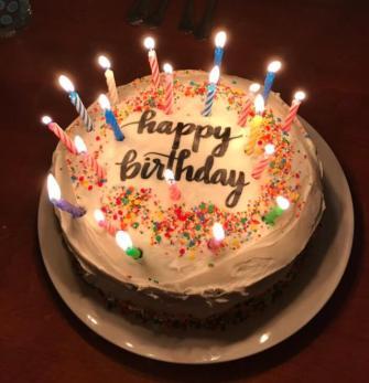 Birthday Cake Instagram Captions