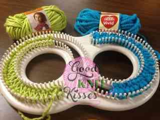 double knitting afghan s loom