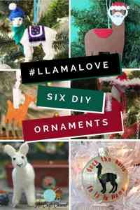 Llama wish you a Merry Christmas with this fun Santa Sombrero Llama ornament. http://www.goodknitkisses.com/santa-sombrero-llama-ornament/ #goodknitkisses #llamalove