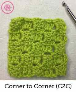 How to Crochet Corner to Corner C2C