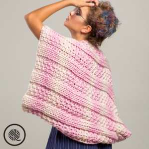 What Can You Make With Loops Yarn Loops Cabled Wrap