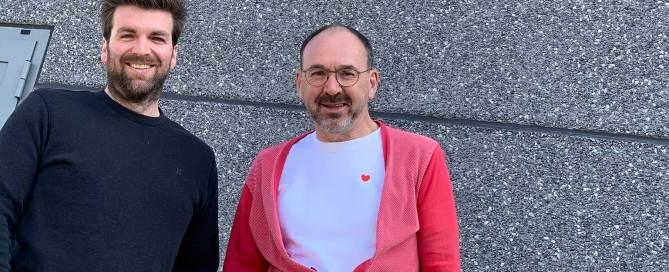 Pascal Somers en Rudi De Kerpel