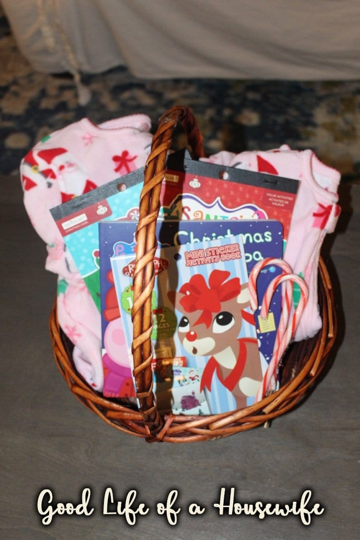 With your Elf on the Shelf retiring a basket is the perfect way to kick start the season. Toddler Christmas Basket | Elf on the Shelf Ideas