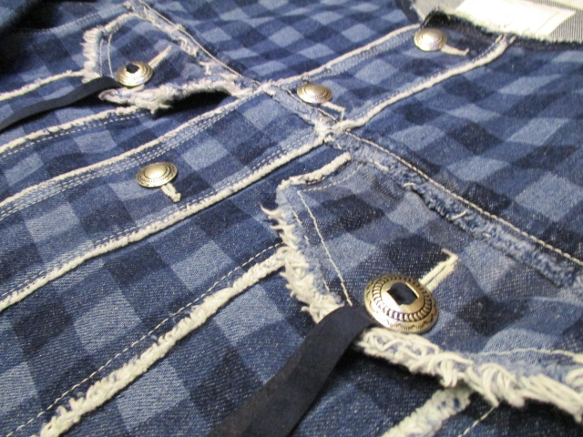 5-knot /  GINGHAM-CHECK DENIM SERIES