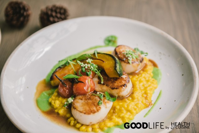 Grilled USA Scallop