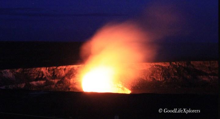 Hawaii Kilauea Volcano