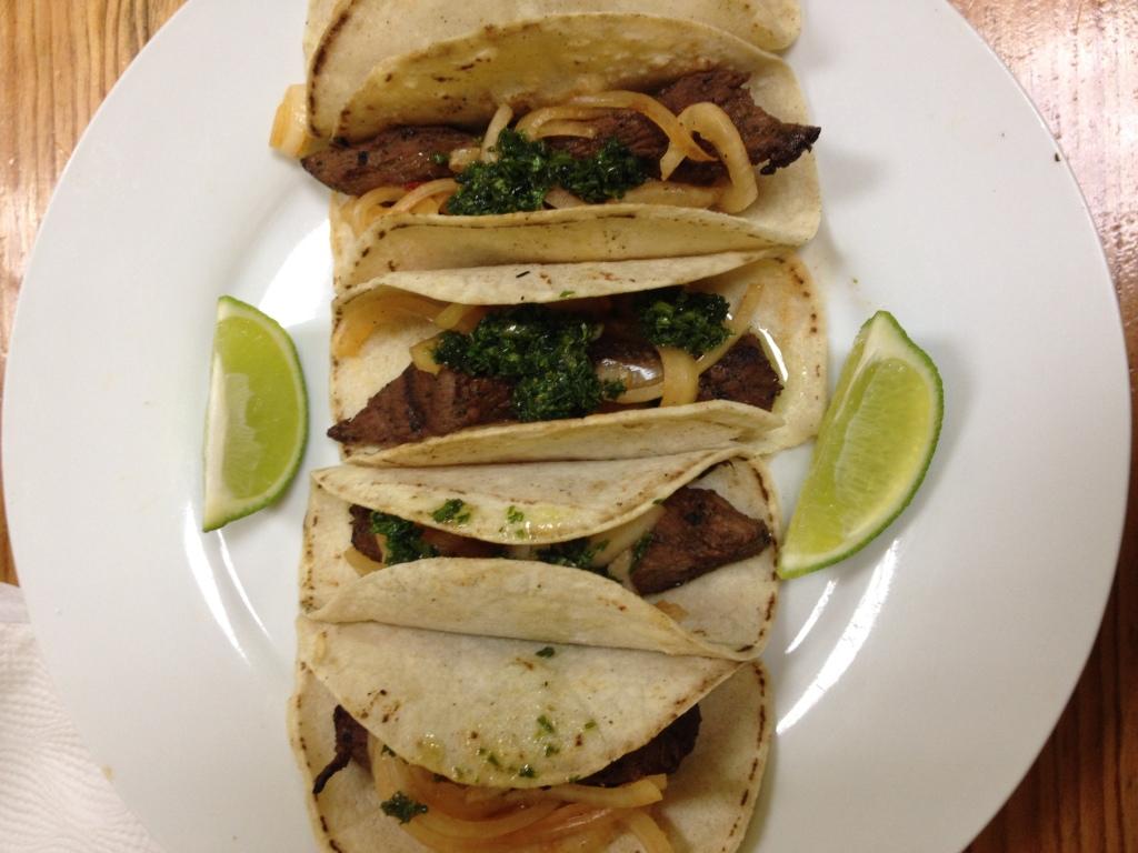 Steak Tacos for US$5