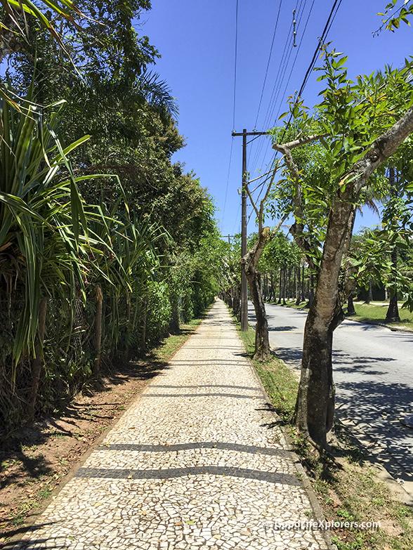 Sidewalk at Riviera
