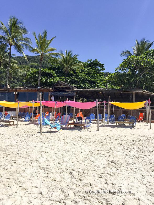 Chapeu de Sol from beach