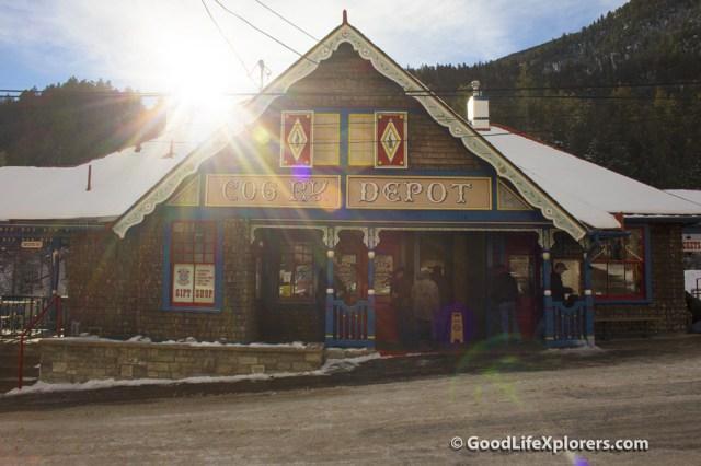 Pike's Peak Cog Railroad Station