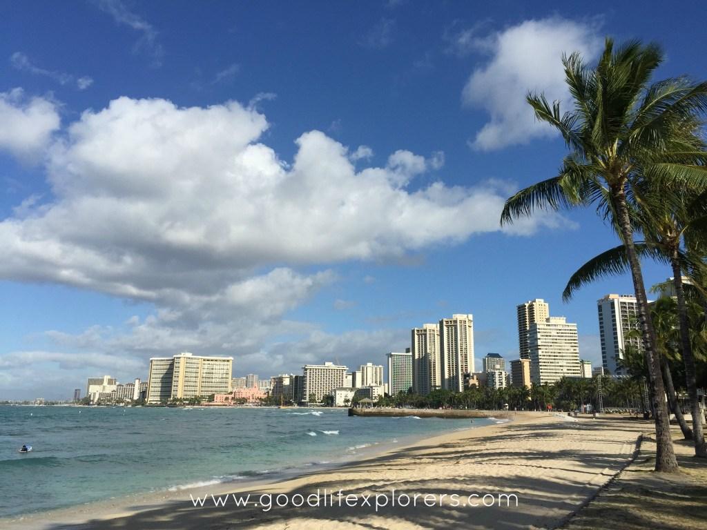 Kuhio Beach in Waikiki, oahu, Hawaii