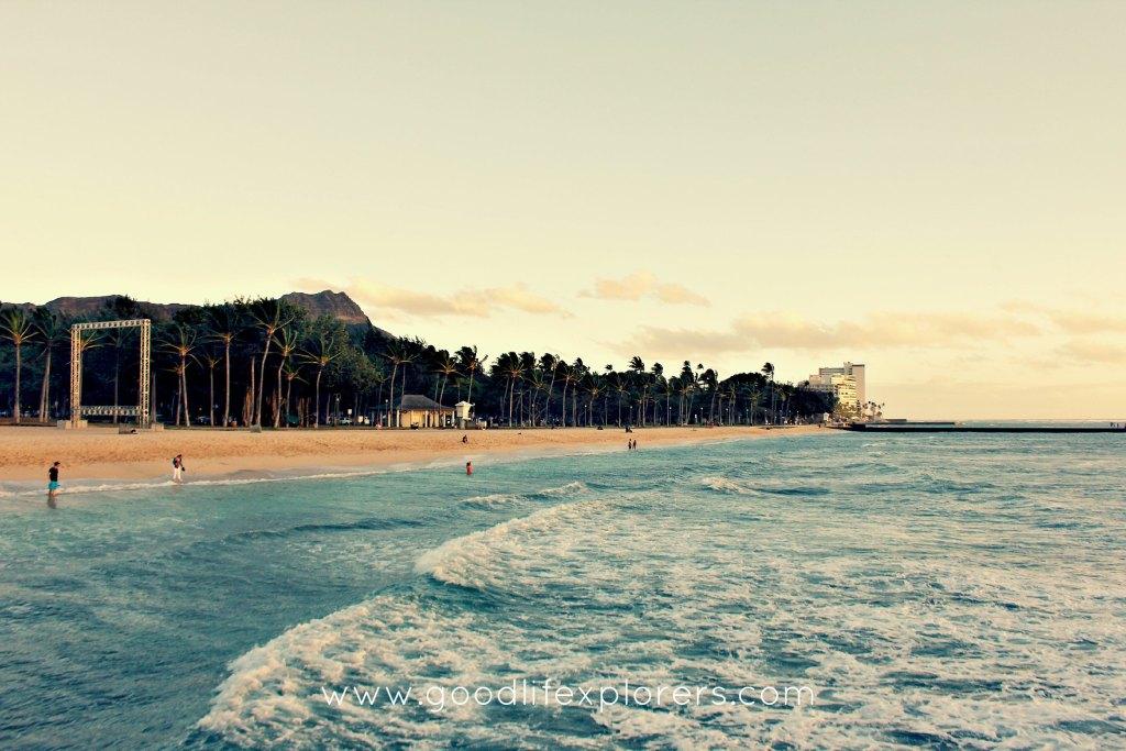 best beaches for BodyBoarding in Oahu - Kuhio Beach