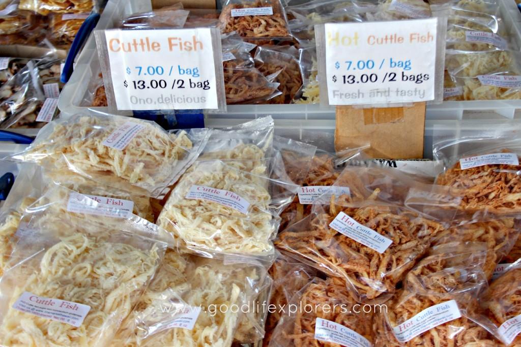 Aloha Market Cuttle Fish