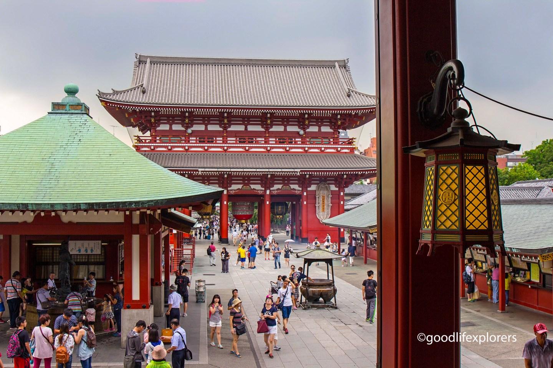 Senso-ji and temple etiquette