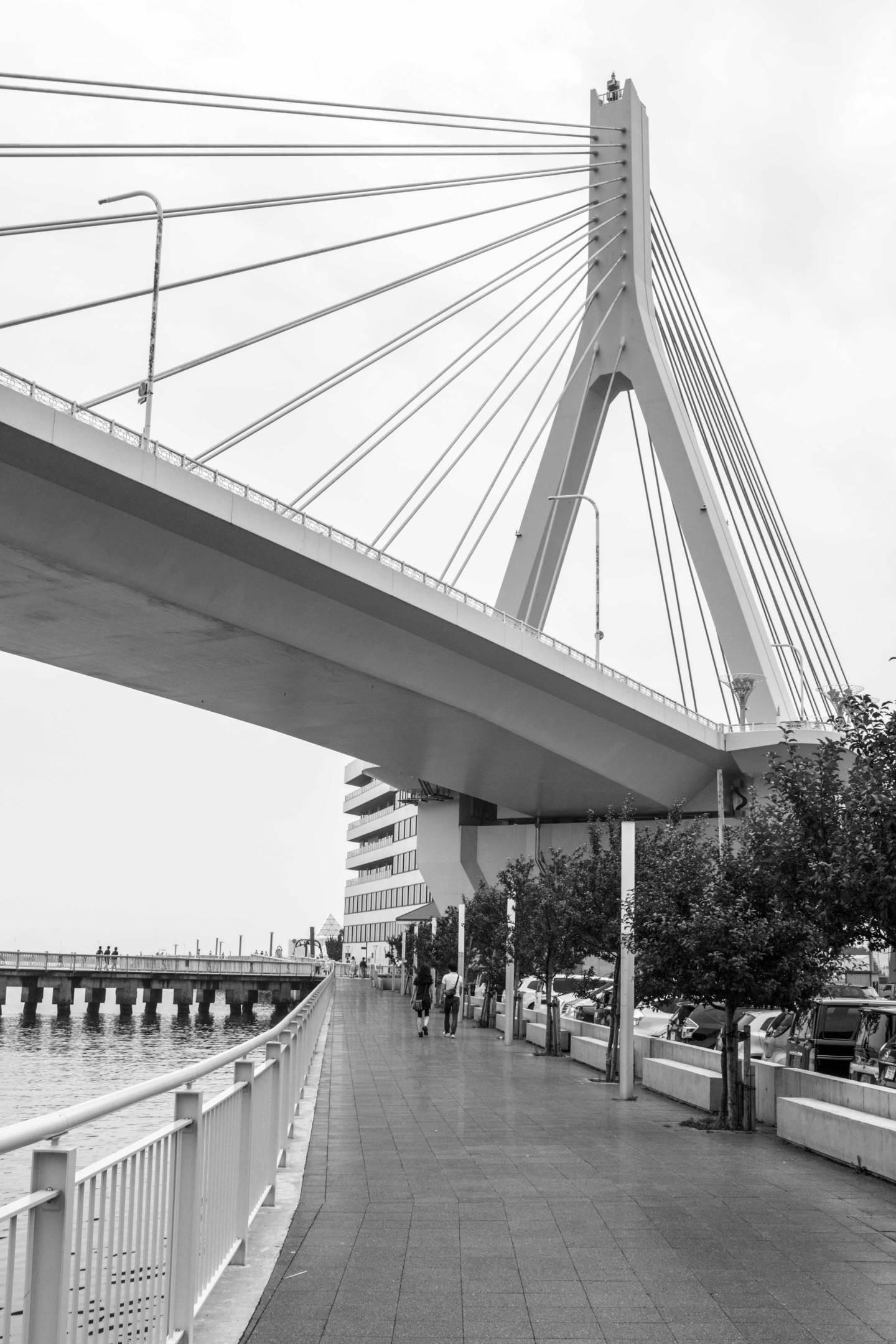 Bridge in Aomori Japan