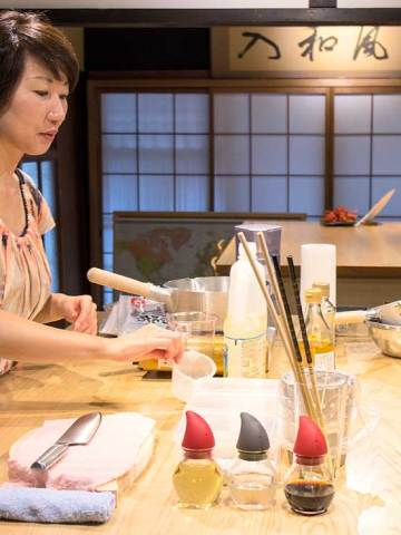 Cooking Class, Kyoto, Travel, Japan, Gion, Camellia, Cooking, show, culture, temple
