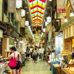 Nishiki Market, Market, Kyoto, Japan, Food, Market, travel tips, travel, travelblog, tempura, fish, seafood, candy, sweets, Japanese, foodie, shopping