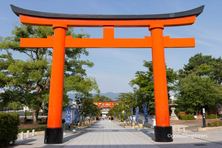 Tori gate at Fushimi- Inari Temple