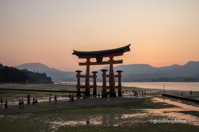 Itsukushima Shinto Shrine Torii Gate Miyajima Japan