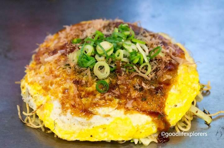 Okonomiyaki, Hiroshima, Japan, Food, Culture, pancake, local cuisine, travel