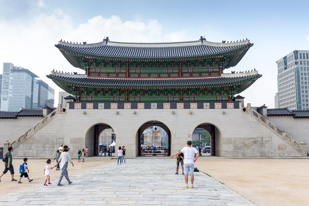 Gyeongbokgung Palace entrance gates