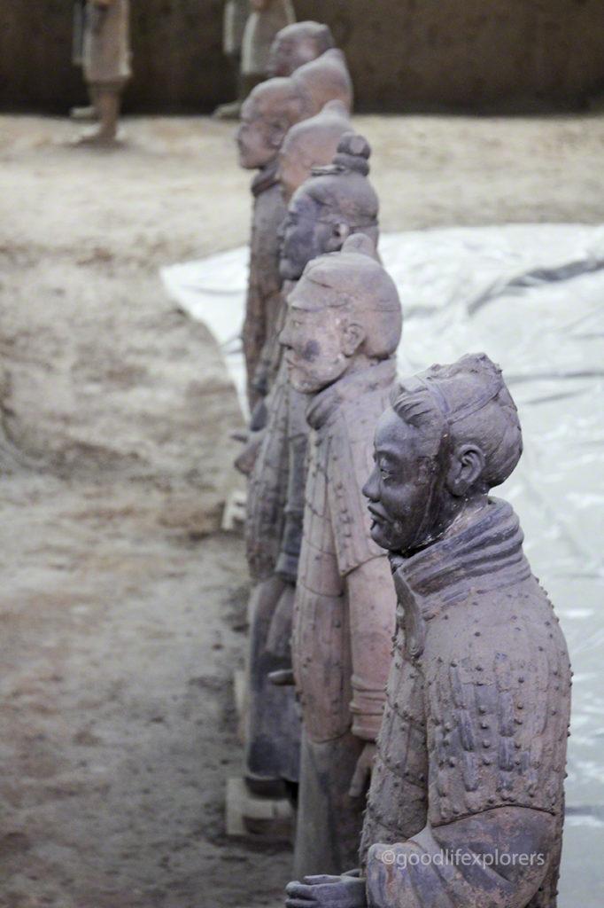 Terracota Army in Xian