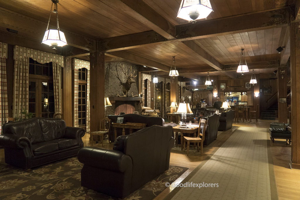Lake Quinault Lodge interior lobby