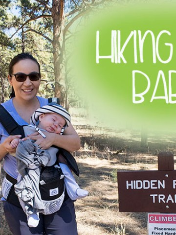 Hiking with a baby, hiking, baby, trail, colorado, first time, tips, parenting