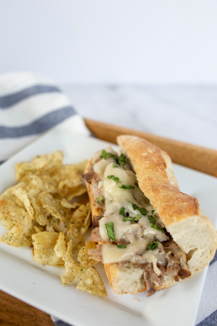 The best slow cooker cuban pork (lechon asado) recipe with mojo!