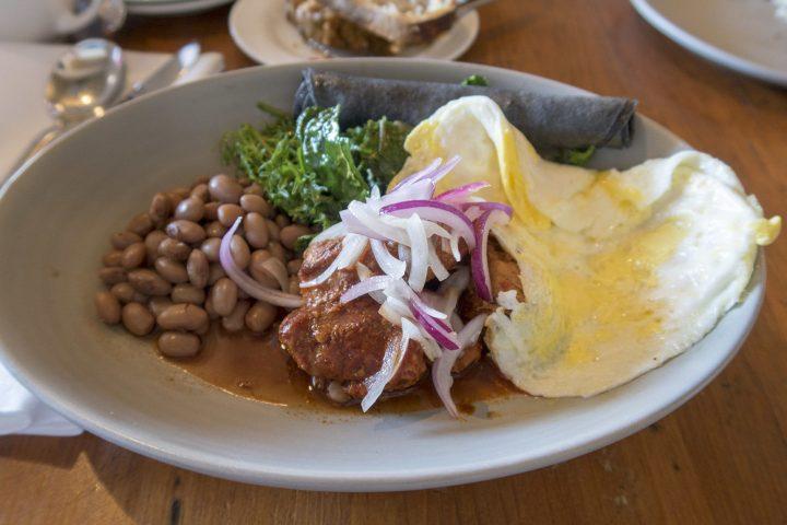 Breakfast Plate at Los Poblanos New Mexico