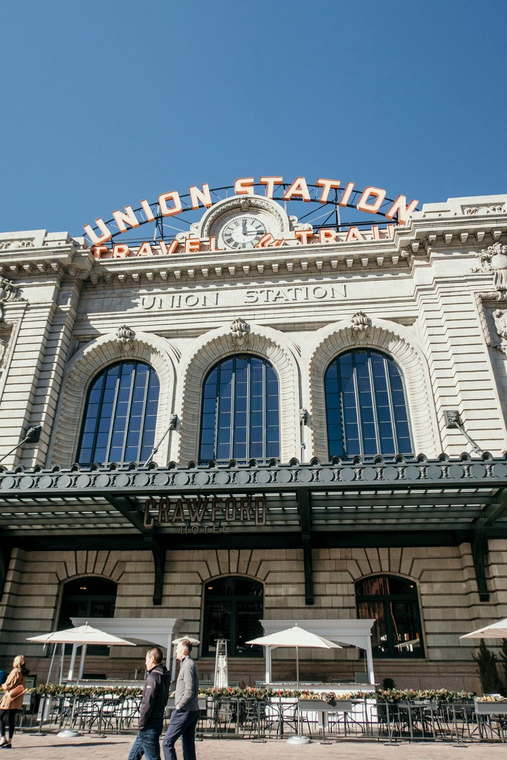 Union Station In Downtown Denver Colorado