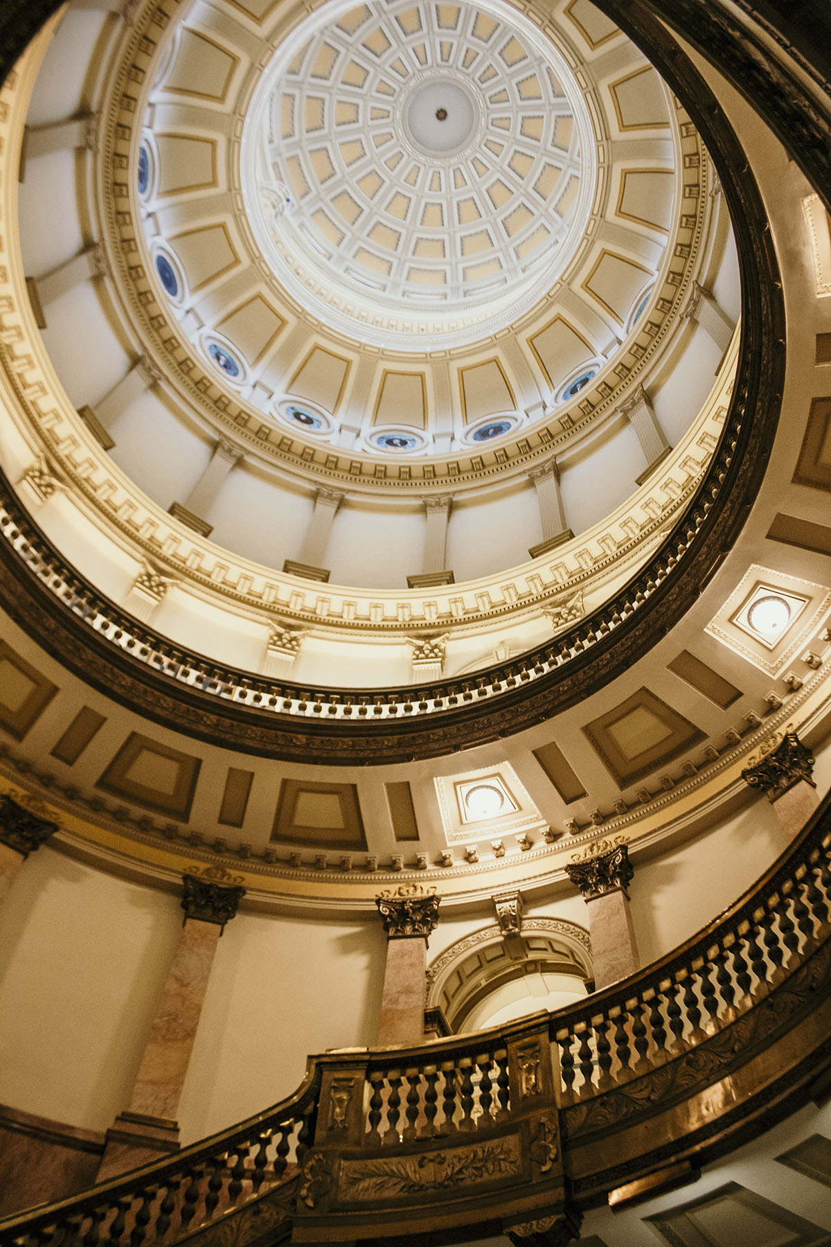 Colorado State Capitol in Denver Colorado