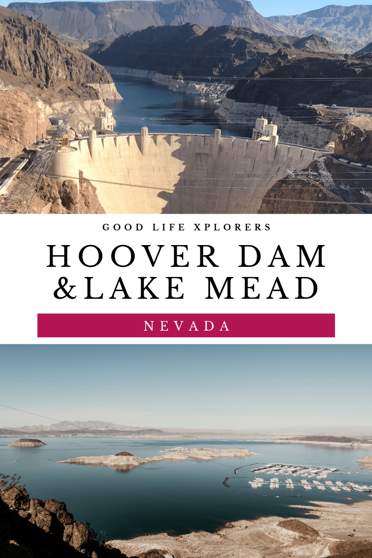 Hoover Dam and Lake Mead in Nevada