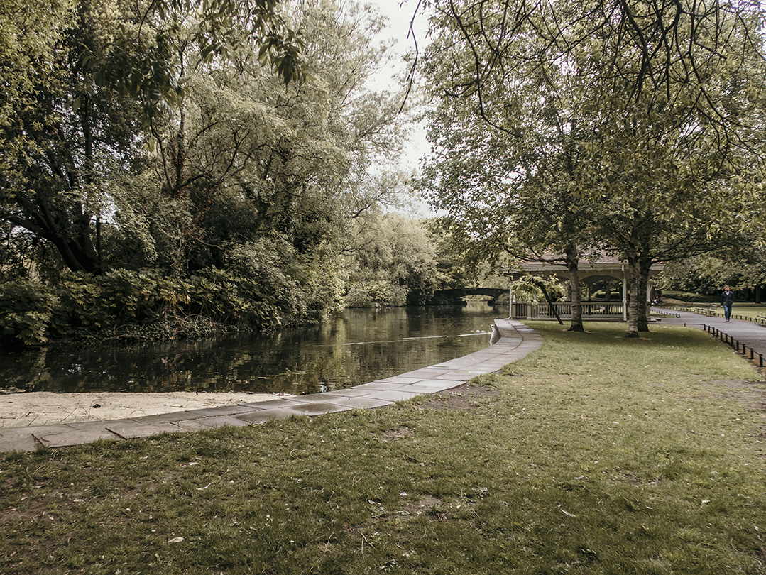 St Stephen's Green Park Dublin Ireland